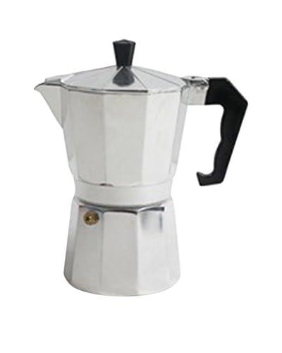 San Ignacio koffiepot 9T Soft Touch Classic zilver
