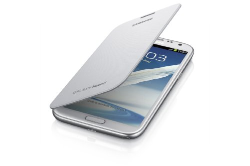 Samsung Galaxy Note 2 Flip Cover Case (Marble White) (Note 2 Case White compare prices)