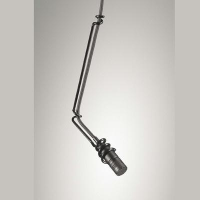 Audio-Technica U853R Cardioid Condenser Hanging Microphone 250 Ohms, Low Profile Design, Black