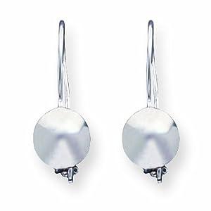 Sterling Silver 8mm Ball Earrings