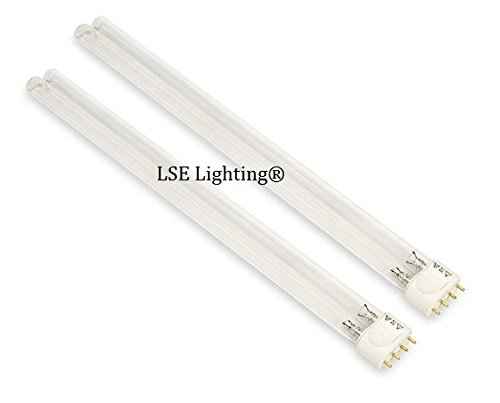 2pack - LSE Lighting Ultraviolet UV Bulb UC36W1006 For Honeywell UV100A1059 UV100E3007
