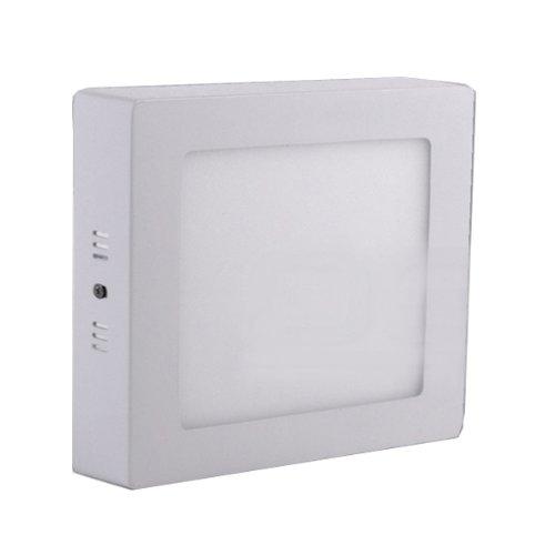 EyourlifeTM LED Panel Quadrat Einbau Leuchte Deckenlampe Wandleuchte Deckenleuchte 9W 720lm dimmbar weiß