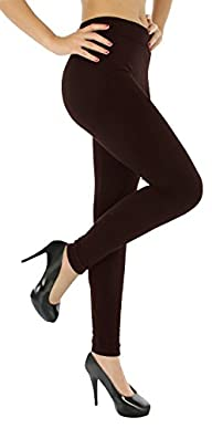 Solid Color Full Length Leggings (Plu…