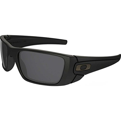 Oakley Fuel Cell Men's Polarized Lifestyle Active Sports Sunglasses/Eyewear - Matte Black/Matte Black/Grey / One Size Fits All (Fuel Sunglasses compare prices)