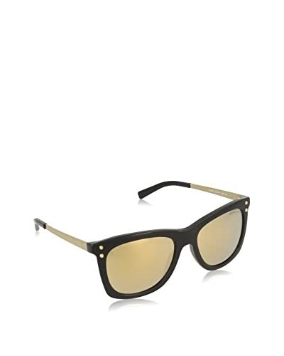MICHAEL KORS BLACK WITH LIQUIDGOLD LENS