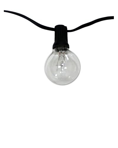 String Light Company Savannah Series 24-Light Indoor/Outdoor String, Clear
