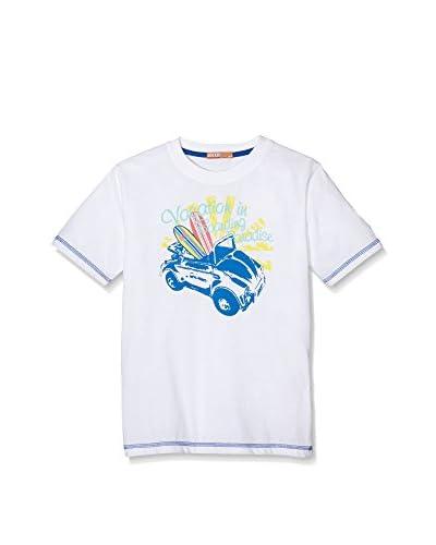 dr.kid Camiseta Manga Corta Blanco