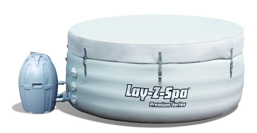 New 2012 Lay-Z-Spa Round Premium Series 4 Portable Hot Tub