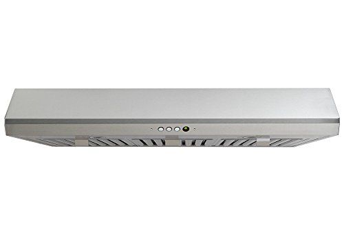 Windster Ra-3030Ss Stainless Steel Under Cabinet 650 Cfm 29.75 Inch Wide Stainless Steel Multi-Speed Under Cabinet Range Hood With Baffle Filters Halogen Lighting From The Ra-30 Collection front-405666