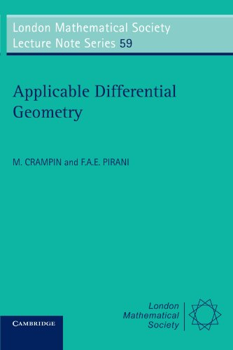 Applicable Differential Geometry