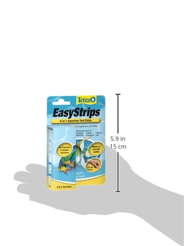 tetra easystrips 6 in 1 test strips the aquarium petshop. Black Bedroom Furniture Sets. Home Design Ideas