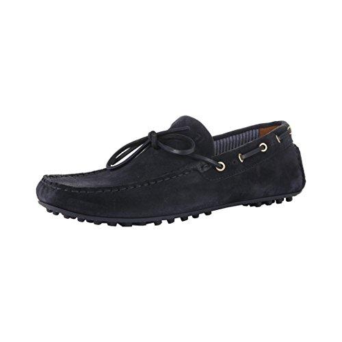 mocassini scarpe Trussardi 77S019_48_BLU Blu