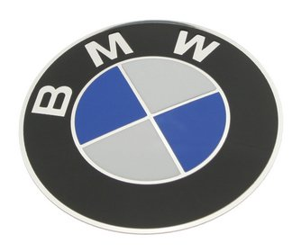 OES Genuine BMW Wheel Cap Emblem - 70mm Diameter (1995 Bmw 325i Emblem compare prices)