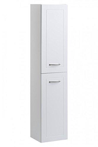Alto armadio 'Emilius' bagno armadietto pensile da bagno bianco opaco