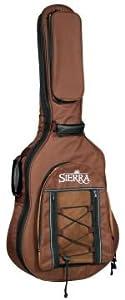 Sierra SBAG02 Auditorium Acoustic Guitar Gig Bag by Sierra