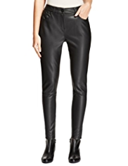M&S Collection Faux Leather Jeggings