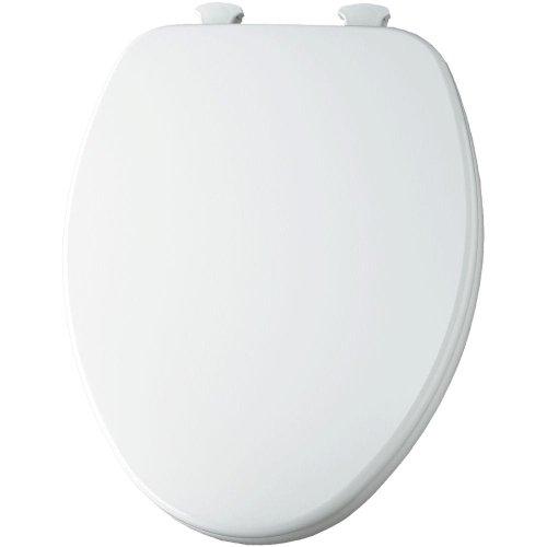 Bemis 585Ec 390 Lift-Off Elongated Closed Front Toilet Seat, Cotton White front-626940