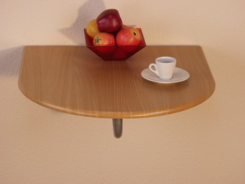 Wandtisch-Farbe-Tischplatte-Buche