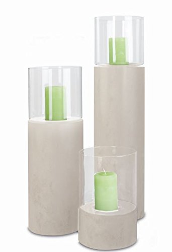 Windlicht-Laternen-Sule-mit-Glascorpus-Creme-300-x-200-mm-aus-Metall-Windlicht-Sule-mit-Kerzeneinsatz
