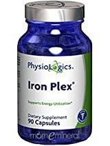 Iron Plex 90 Capsules by PhysioLogics