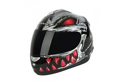 g-mac-g-mac-predator-full-face-helmet-gunmetal-silver-red-x-large-by-g-mac