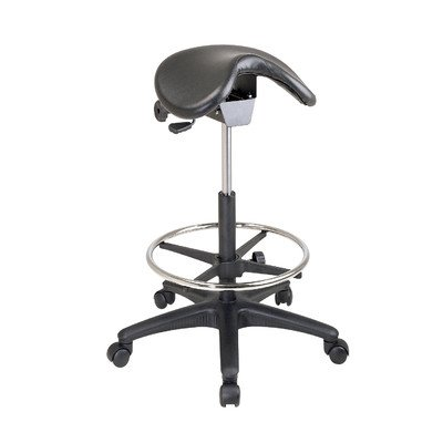 WorkSmart Seating Backless Office Stool  Saddle