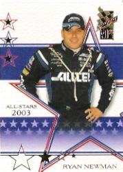 Buy 2003 VIP #29 Ryan Newman AS by VIP