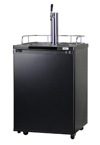 Kegco Single Tap Freestanding Beer Dispenser (Half Keg Barrel compare prices)