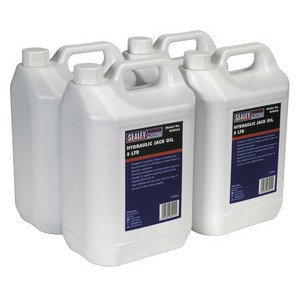 HJO/5L Hydraulic Jack Oil 5ltr Pack of 4