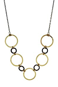 Imagine Jewelry Gold Hoop Necklace