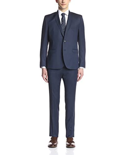 Ben Sherman Men's Camden Solid Slim Fit Suit