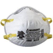 3M 8210 N95 Respirator, 20-Pack