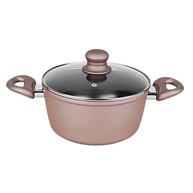 5QT-7QT Aluminum Casserole with Rubber Handle