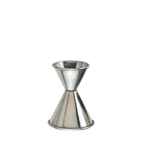 Stainless Steel Jigger 1 oz. X 1 1/2 oz. (J-204AM) Category: Bar Jiggers