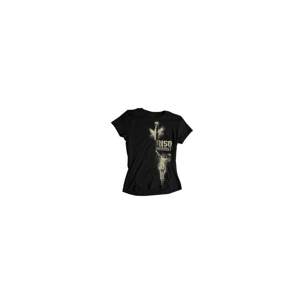 Bomb Girl T Shirt (Black,l,Female) Musik