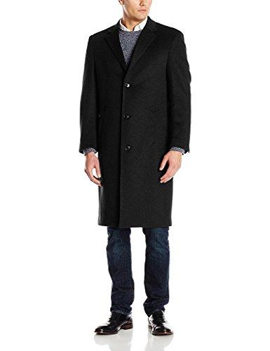 london-fog-mens-ls19195-signature-wool-blend-topcoat-solid-black-44s