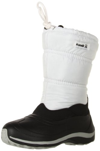 Kamik Shimmer Boot (Toddler/Little Kid/Big Kid),Ivory,2 M US Little Kid