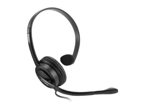 Cellet Universal Premium Mono 3.5mm Hands-Free Headset with Boom Microphone – Retail Packaging