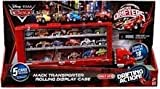 Disney / Pixar CARS Movie Exclusive Micro Drifters Mack Transporter Rolling Display Case [5 Cars Included, Store & Display 18 Cars!]
