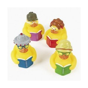 Fun Express 12 Reading Rubber Ducks - 1