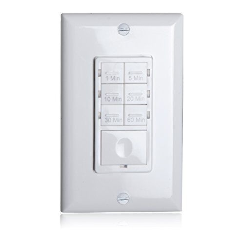 Timer Switch Bathroom Fan: Maxxima 1800 Watt 7 Button Countdown Timer Switch Maximum