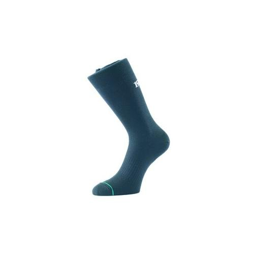 ANTI BLISTER DAY SOCKS. Double Layered. Moisture Wicking. Top Vented. Arch Support-Black XL 12-14