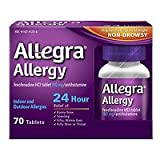 Allegra 24 Hour Allergy, Tablets, 70 ea - 2pc