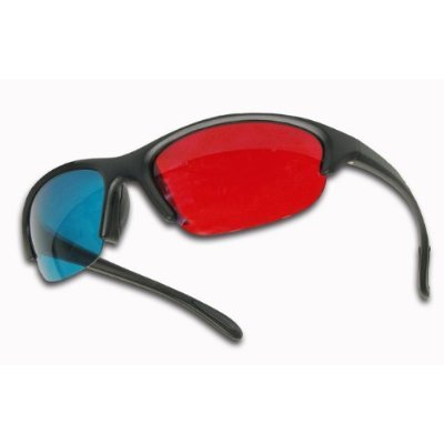 3D Glasses - cyan/red for 3D Movies, Gaming and