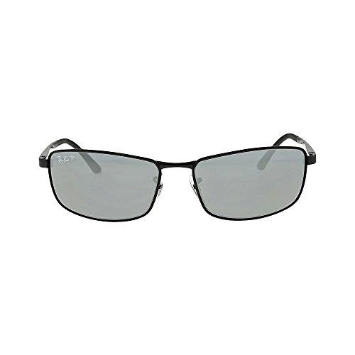 ray-ban-rb3498-sunglasses-006-81-61-matte-black-frame-polar-gray