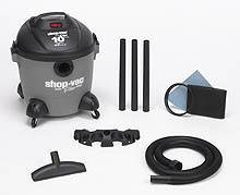 Shop-Vac 5851000 10-Gallon 4 0-Peak HP Quiet Plus Series Wet Dry Vacuum