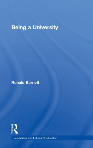 Being a University (Foundations and Futures of Education)
