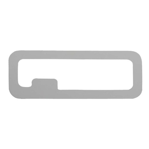 Bully ST-223T Stainless Steel Tailgate Emblem Trim