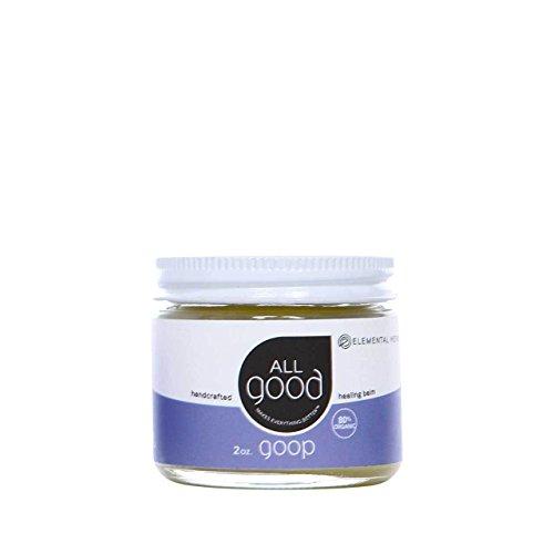 Elemental Herbs All Good Goop Organic Healing Balm, 2 Ounce