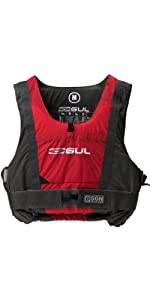 *2014 Gul Garda 50N Buoyancy Aid in Charcoal/Red GM0002 Size-- - Medium
